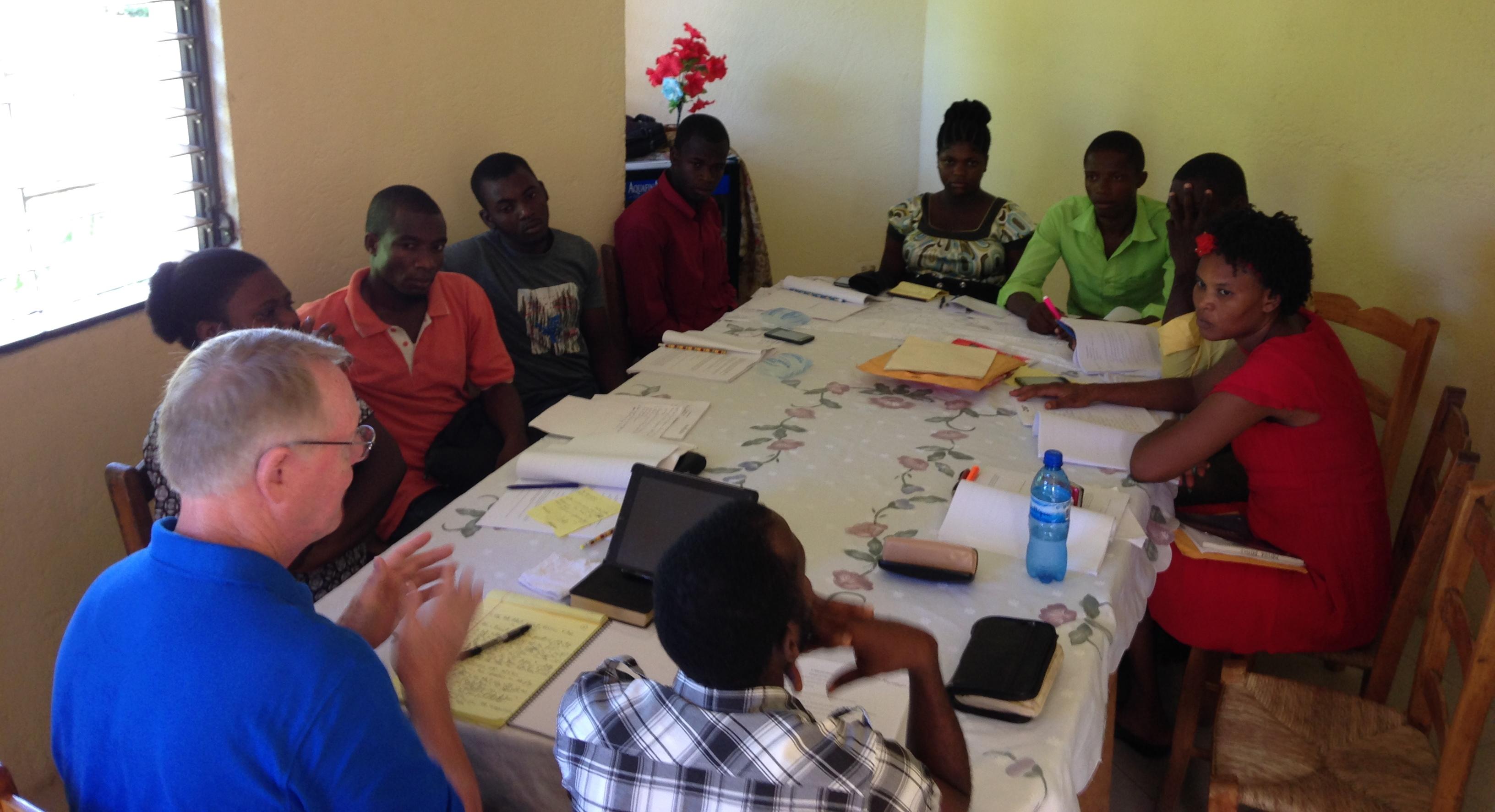 Haiti 2016-07 Particpants 020a